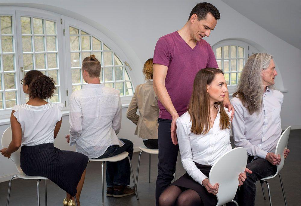 Florian Spater Business Yogalehrer, Yoga@work